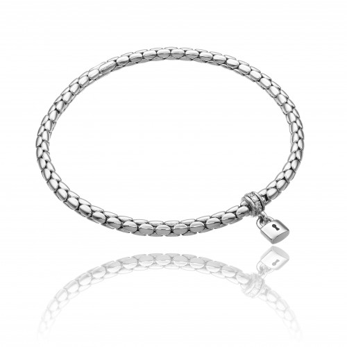 CHIMENTO_stretch_spring_charms_padlock_white