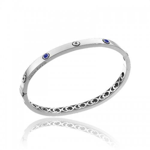 chimento-bemine-bangle-white-gold-sapphires
