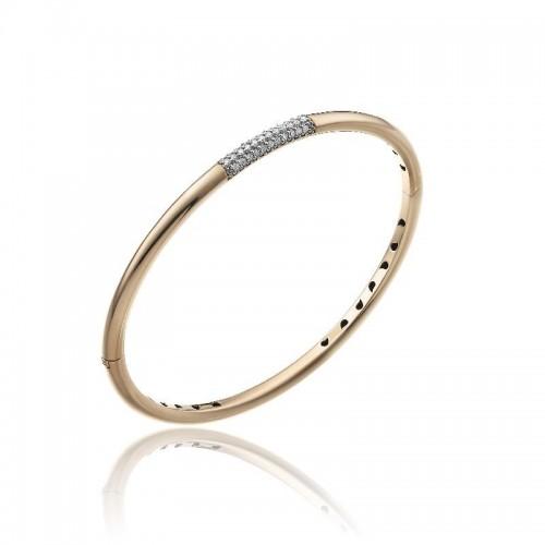 Bamboo-Pure-bracciale--oro-rosa