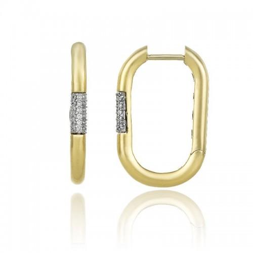 Bamboo-Pure-orecchini--oro-giallo-diamanti