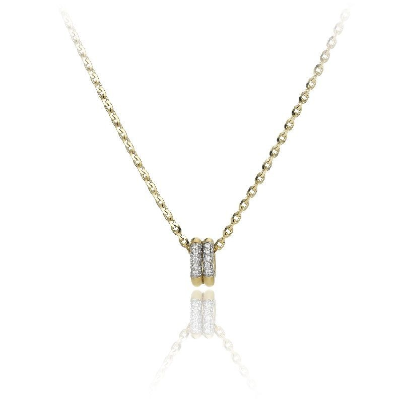 Bamboo-Pure-yellow-gold-necklace