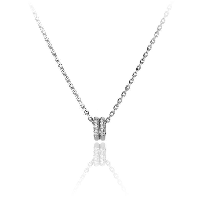 Bamboo-Pure-white-gold-necklace