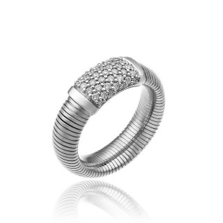 CHIMENTO-ring-medium-Stardust-Pavè-white-gold