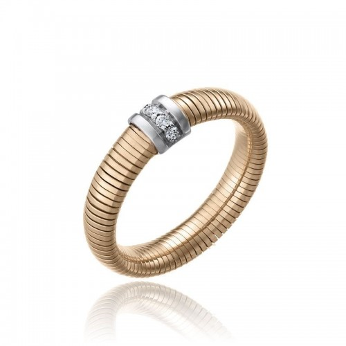 CHIMENTO-tubogas-ring-small-Stardust-Pavè-pink-gold