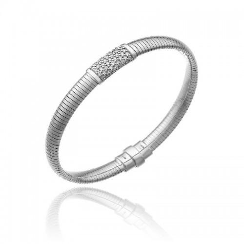 CHIMENTO-bracelet-medium-Stardust-Pavè-white-gold