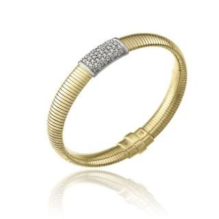 CHIMENTO-bracelet-big-Stardust-Pavè-yellow-gold