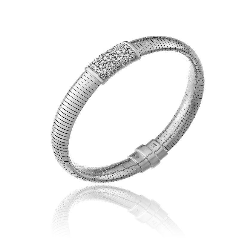 CHIMENTO-bracelet-big-Stardust-Pavè-white-gold