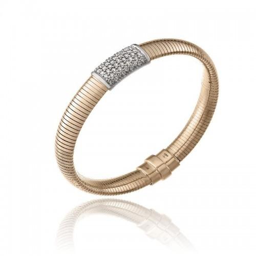 CHIMENTO-bracelet-big-Stardust-Pavè-pink-gold
