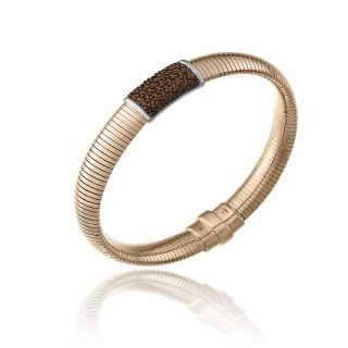 CHIMENTO-bracelet-big-Stardust-Pavè-brown-gold