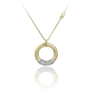 Stardust-Pavé-yellow-gold-pendent